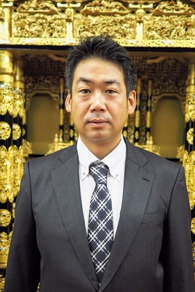 株式会社滝本仏光堂 四代目代表取締役 滝本佳之