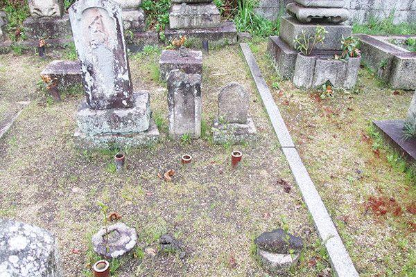 墓石リフォームビフォー