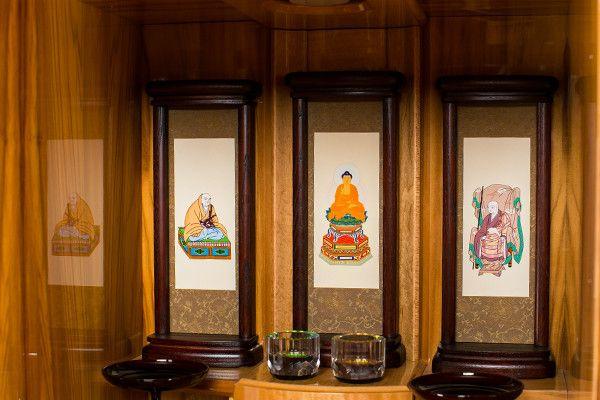 家具調仏壇 モダン台付き15号RP