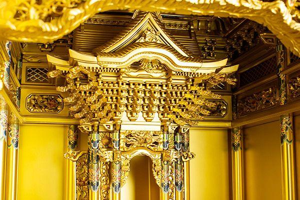 本金粉 本塗 2尺堂造り台付 西本願寺