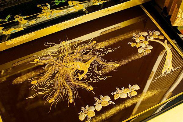 本金粉 本漆 2尺堂造り台付 西本願寺