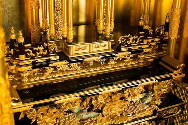 本金箔 本漆 3.2尺 西本願寺