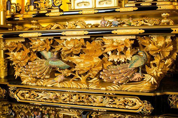 本金箔 本塗 3,2尺台付 西本願寺