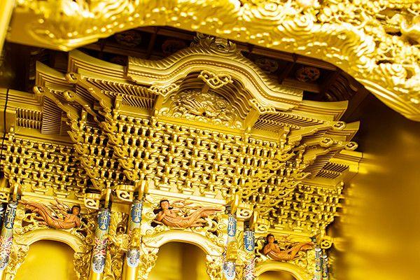 本金箔/金粉 本塗 2,4尺台付 西本願寺