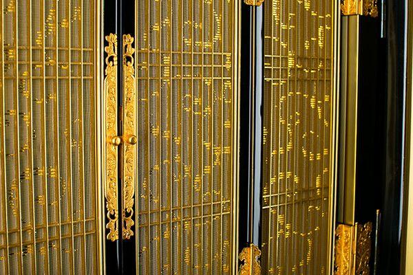 本金箔/金粉 本塗 2,4尺台付 各宗派