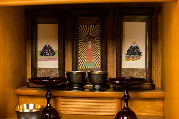 上置仏壇 ナラ上置 18号MT